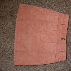 Madewell Corduroy A-line Mini skirt Womens size 8